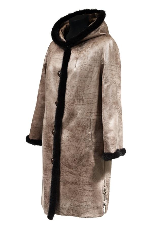 Цена 6 500 руб. Куртка с норковым воротником