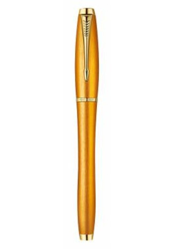 Ручка роллер Parker Urban Premium Historical colors T205 Mandarin Yellow Fblack
